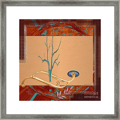 Framed Print featuring the digital art Inw_20a5563-sq_sap-run-feathers-to-come by Kateri Starczewski