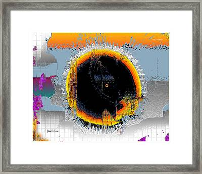 Framed Print featuring the digital art Inw_20a5568_subsequence by Kateri Starczewski