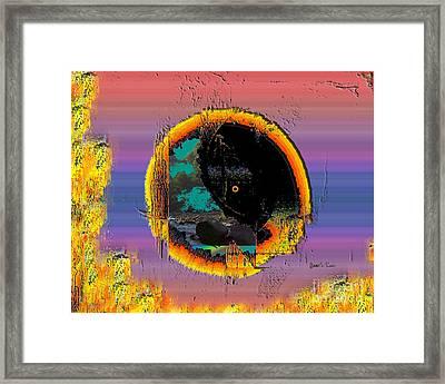 Framed Print featuring the digital art Inw_20a5569_blankets by Kateri Starczewski