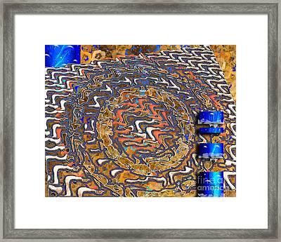 Framed Print featuring the digital art Inw_20a5574_slim-passage by Kateri Starczewski