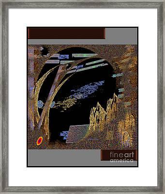 Framed Print featuring the digital art Inw_20a5580_hoofed by Kateri Starczewski