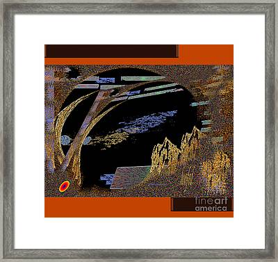 Framed Print featuring the digital art Inw_20a5581_hoofed by Kateri Starczewski