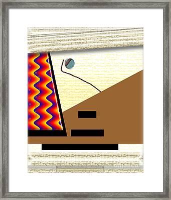 Framed Print featuring the digital art Inw_20a6143_rendezvous by Kateri Starczewski