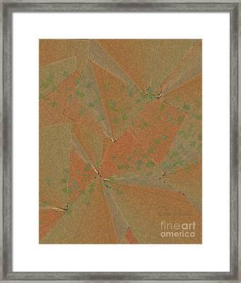 Framed Print featuring the digital art Inw_20a6150 Savory by Kateri Starczewski