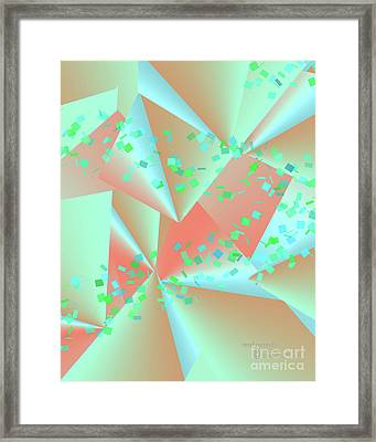 Framed Print featuring the digital art inw_20a6151-MH17 sweet currents by Kateri Starczewski