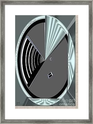 Framed Print featuring the digital art Inw_20a6468_wink by Kateri Starczewski