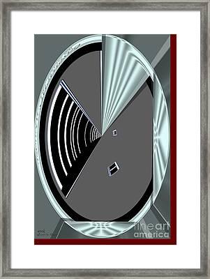 Framed Print featuring the digital art Inw_20a6469_wink by Kateri Starczewski