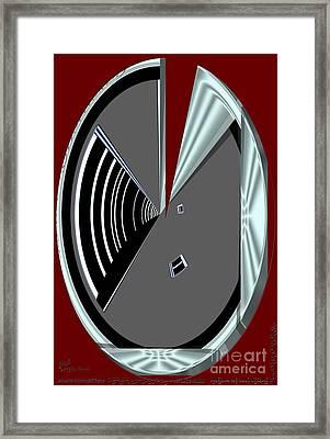 Framed Print featuring the digital art Inw_20a6470_wink by Kateri Starczewski