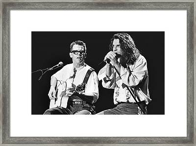 Inxs '88 #4 Framed Print by Chris Deutsch