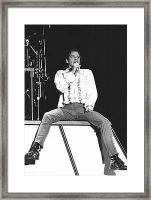 Inxs '88 #5 Framed Print by Chris Deutsch