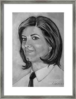 Ioanna Framed Print by Kostas Koutsoukanidis