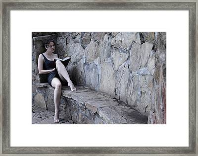 Iona Lynn 1-4 Framed Print by David Miller
