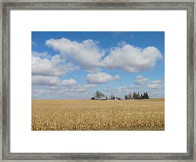 Iowa 3 Framed Print
