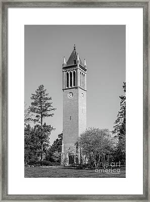Iowa State University Campanile Framed Print