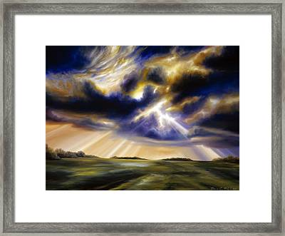 Iowa Storms Framed Print