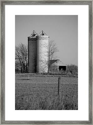 Iowa Towers 1 Framed Print