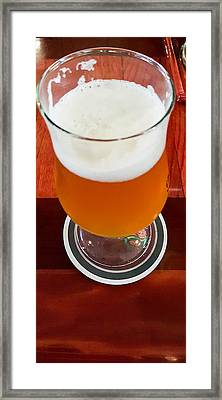 Ipa Beer Framed Print