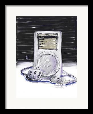 2000s Digital Art Framed Prints