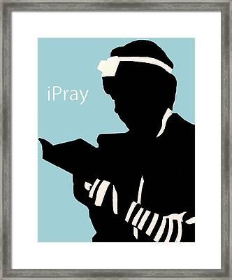 Ipray Framed Print by Anshie Kagan