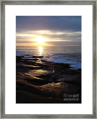 Ipswich Bay Delight Framed Print by Chad Natti