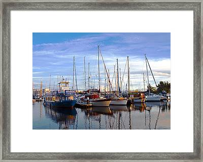 Ipswich Harbour Framed Print by Svetlana Sewell
