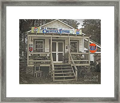 Ira V Ferguson's Country Store Framed Print