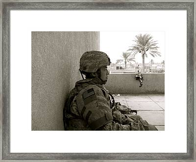 Iraq Framed Print by Aimee Galicia Torres