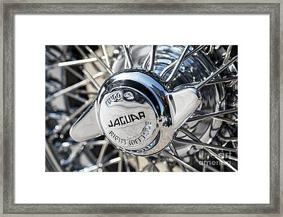 Framed Print featuring the photograph Wire Wheel  by Dennis Hedberg