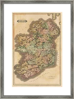 Ireland 1831 Framed Print by Mountain Dreams
