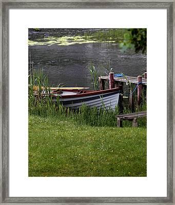 Ireland Boat Framed Print by Michael Carlucci