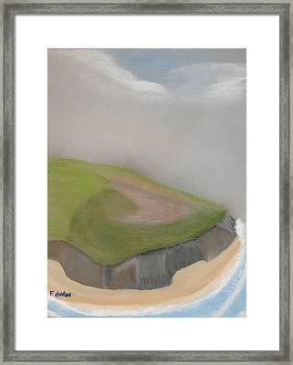 Ireland Cliffs Framed Print by Edwin Long