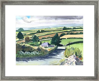 Ireland County Monaghan Framed Print