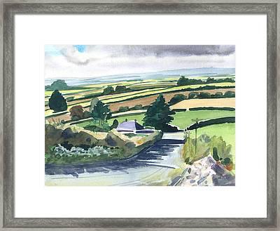 Ireland County Monaghan Framed Print by Scott Bennett