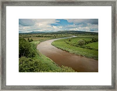 Ireland River Framed Print