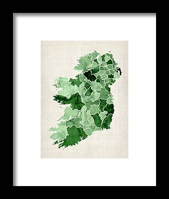 Ireland Framed Prints
