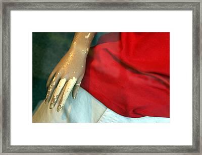 Irene Hand All Framed Print by Jez C Self