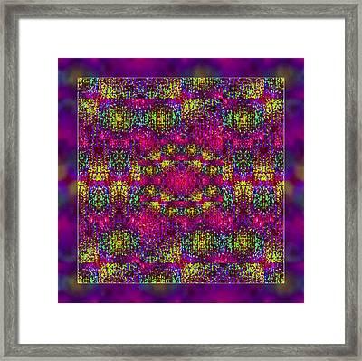 Love Energy Framed Print