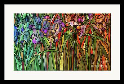 Glass Wall Paintings Framed Prints