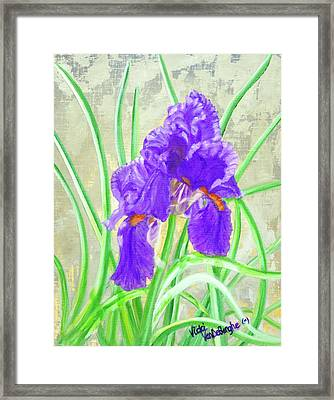 Iris Hope Framed Print