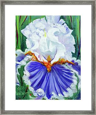 Iris Wisdom Framed Print