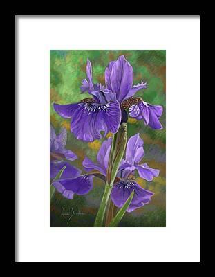 Floral Digital Art Framed Prints