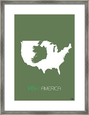 Irish America Poster Framed Print