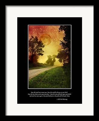 Irish Folklore Framed Prints