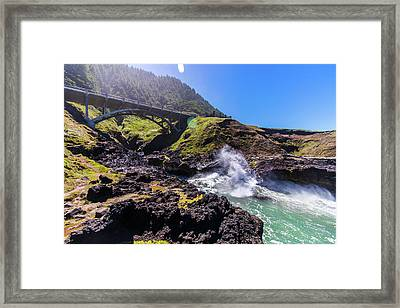 Irish Bridge Framed Print