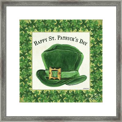 Irish Cap Framed Print by Debbie DeWitt