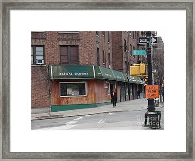 Framed Print featuring the photograph Irish Eyes by Cole Thompson