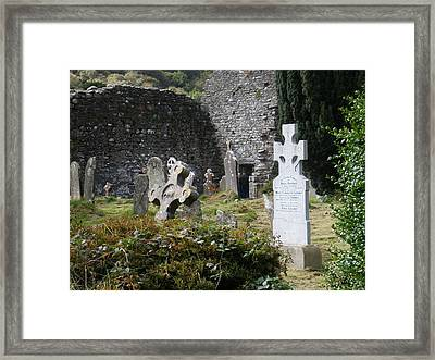 Irish Graves Framed Print by Siobhan Yost