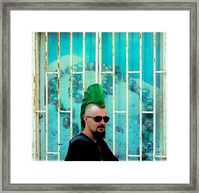 Irish Hair  Framed Print by Steven Digman