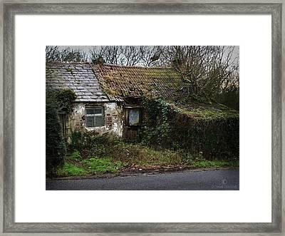 Irish Hovel Framed Print