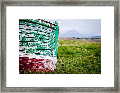 Irish Landscapes Framed Print by Peter McCabe